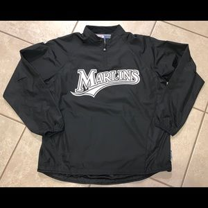 Vintage Florida Marlins Windbreaker Pullover. XL